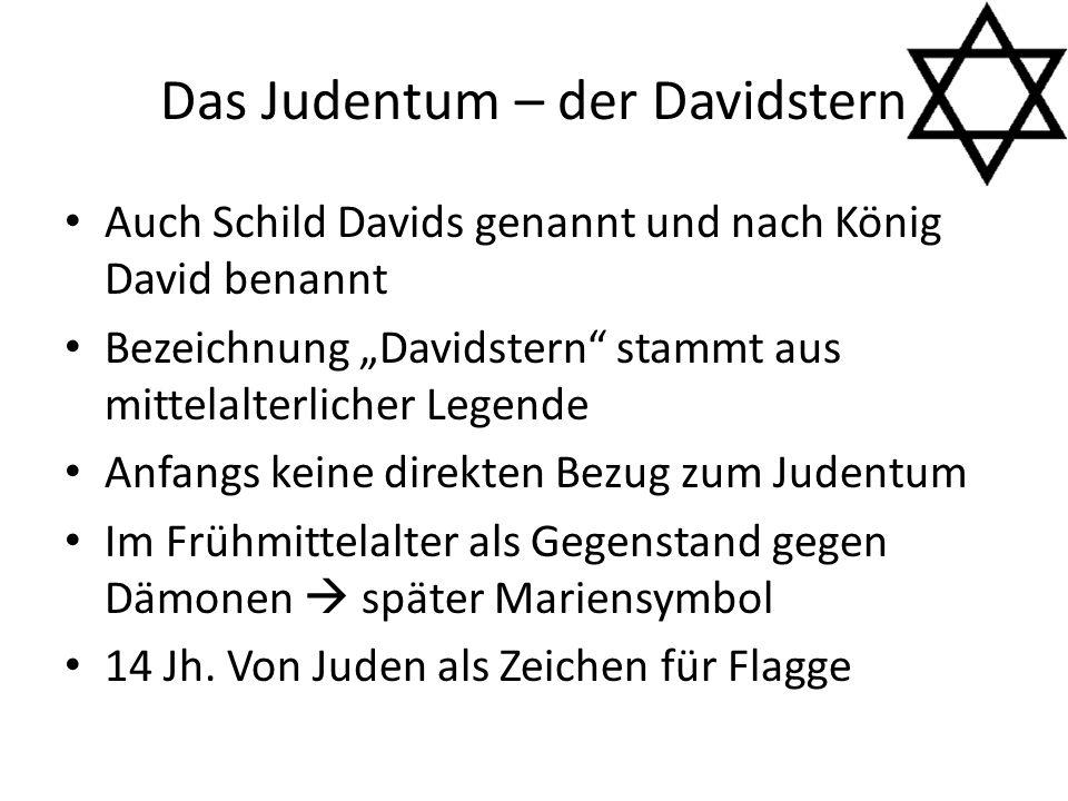 Das Judentum – der Davidstern