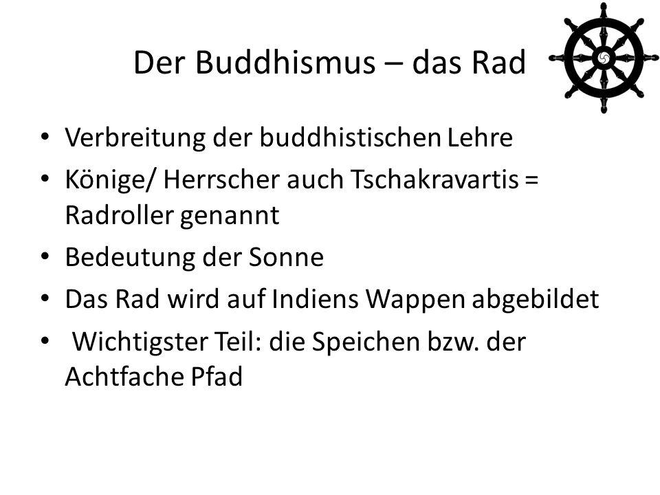 Der Buddhismus – das Rad