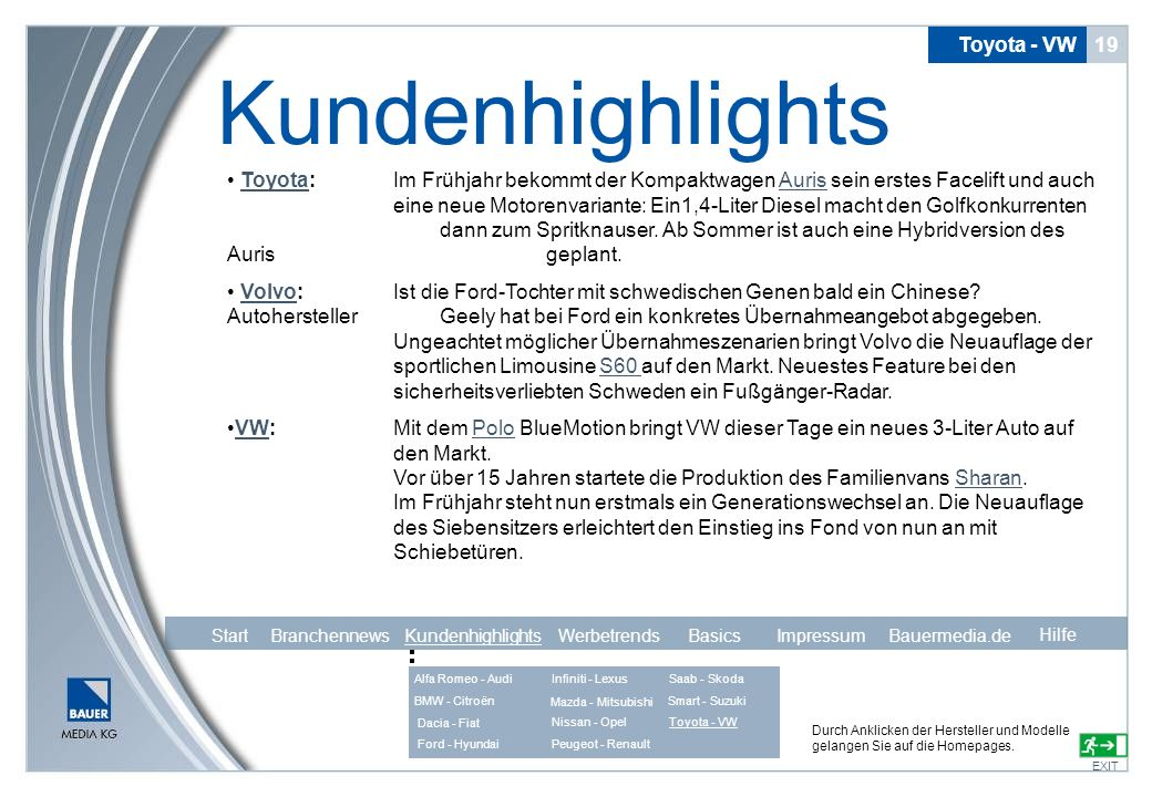 Kundenhighlights Toyota - VW 19