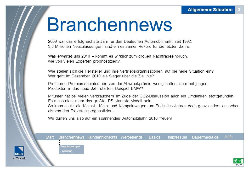 Branchennews Allgemeine Situation 3
