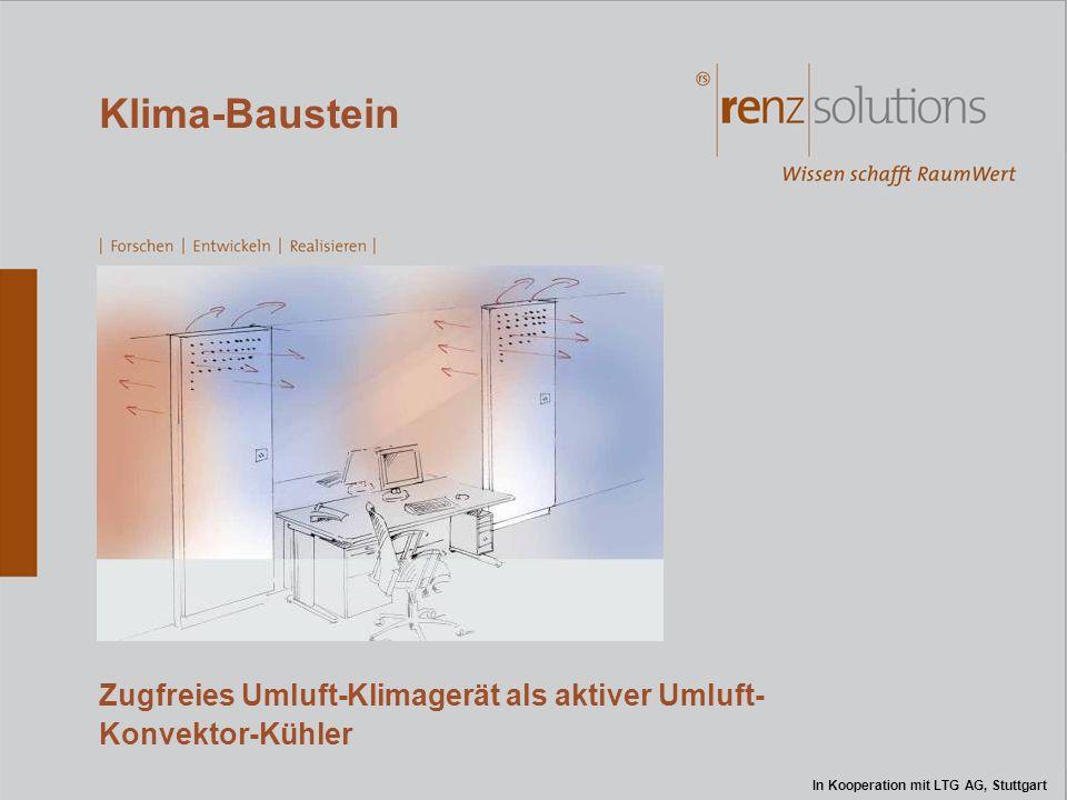 Zugfreies Umluft-Klimagerät als aktiver Umluft- Konvektor-Kühler