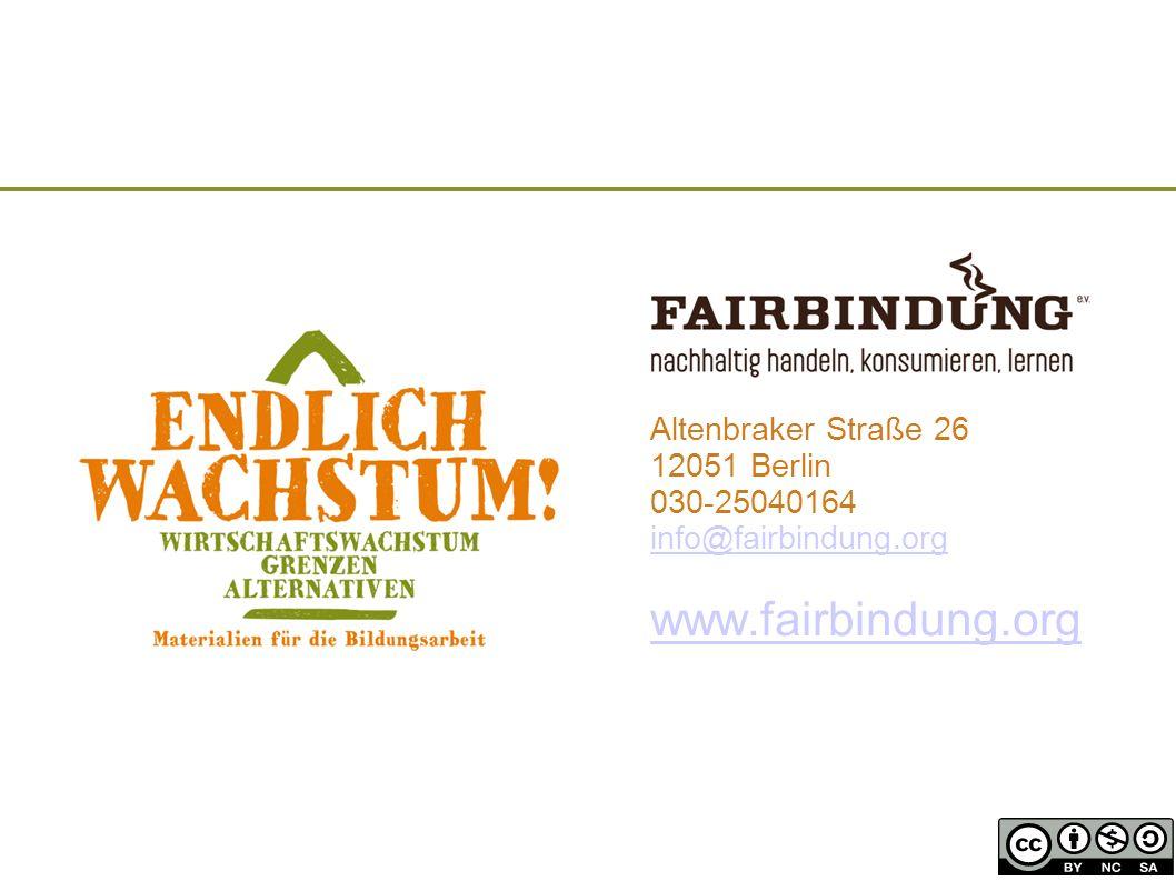 www.fairbindung.org Altenbraker Straße 26 12051 Berlin 030-25040164