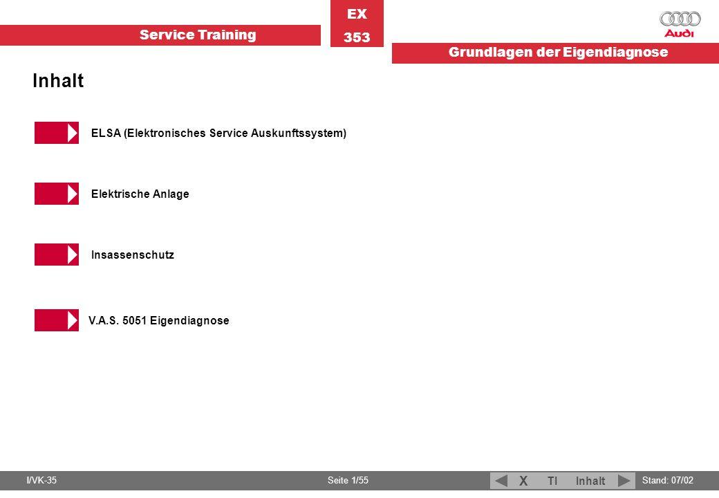 Inhalt ELSA (Elektronisches Service Auskunftssystem)