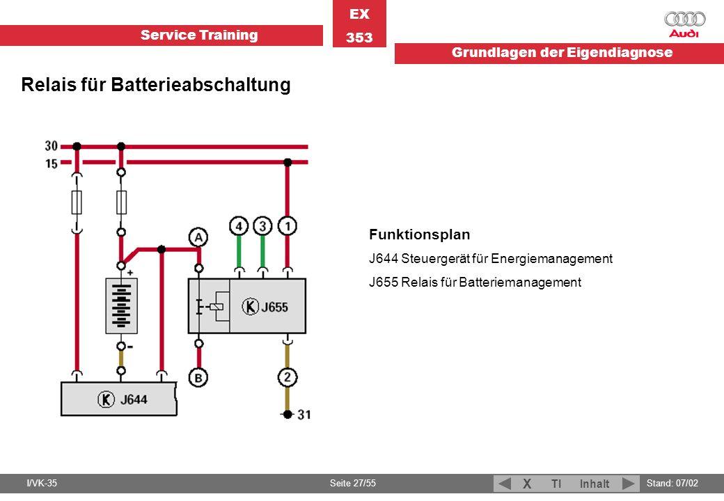 Relais für Batterieabschaltung