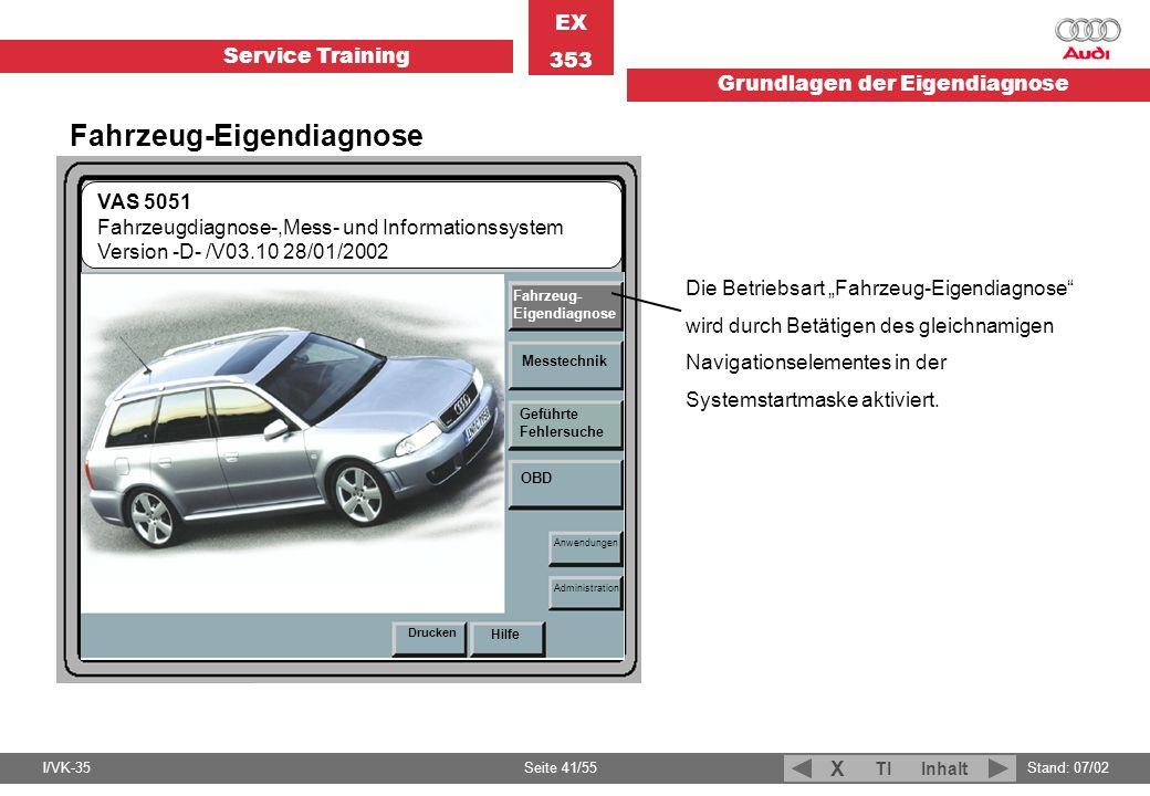 Fahrzeug-Eigendiagnose