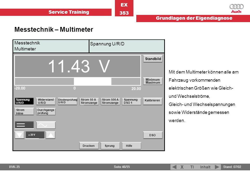 Messtechnik – Multimeter
