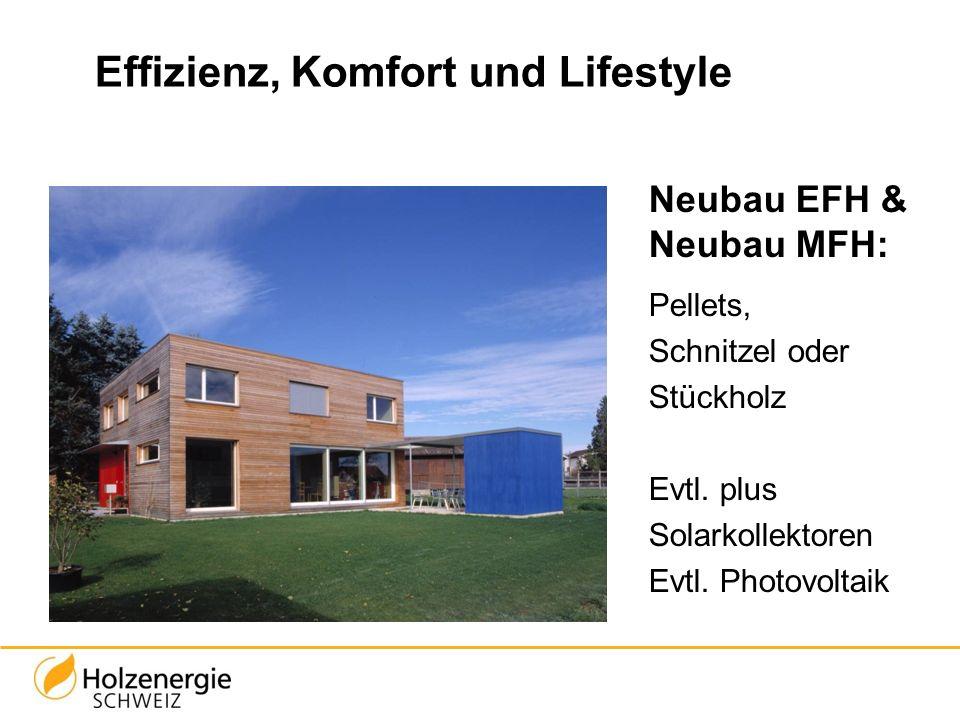 Effizienz, Komfort und Lifestyle