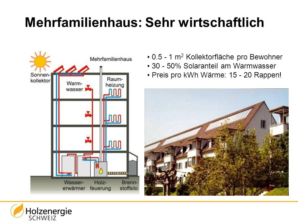 Mehrfamilienhaus: Sehr wirtschaftlich