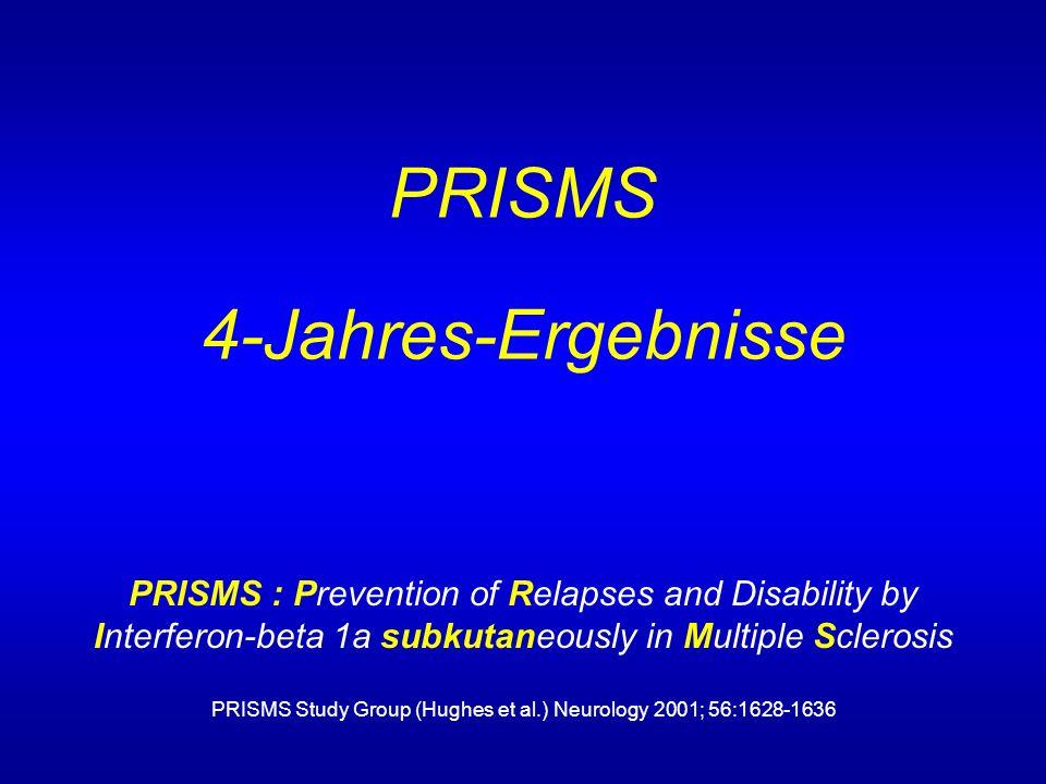 PRISMS 4-Jahres-Ergebnisse