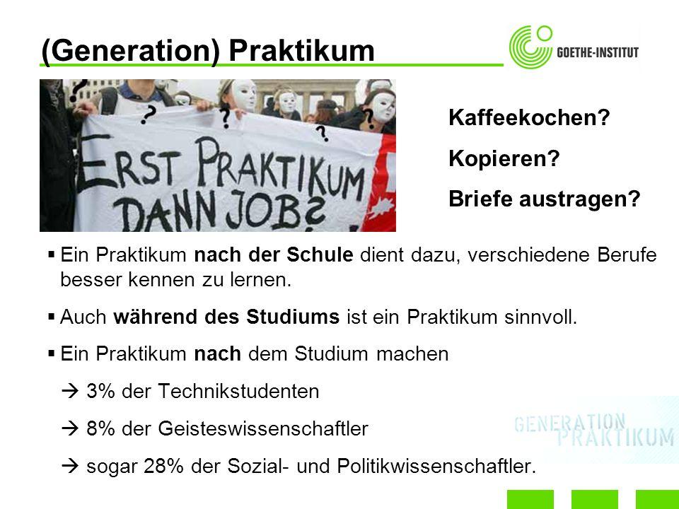 (Generation) Praktikum