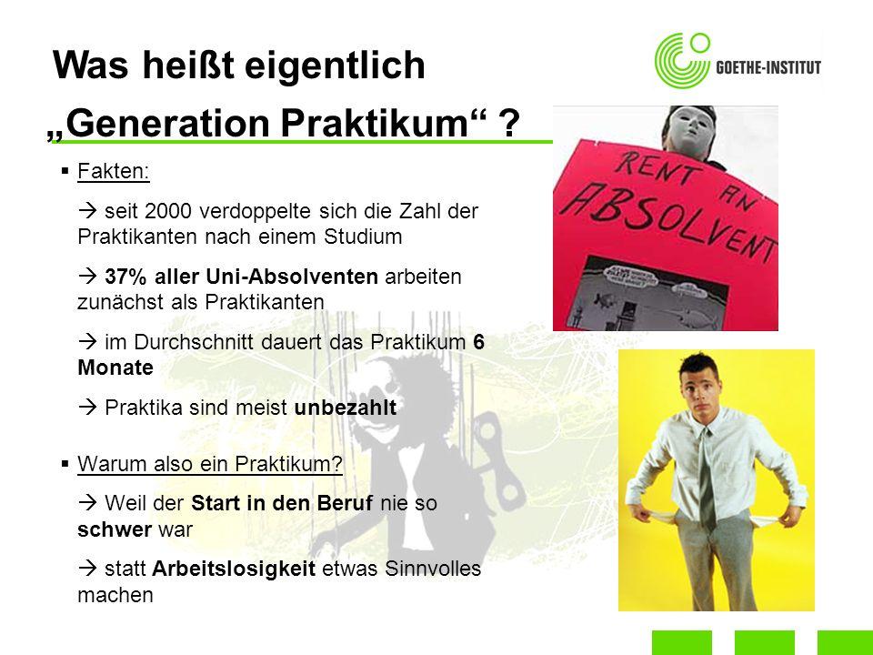 """""""Generation Praktikum"""