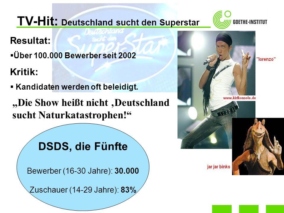 TV-Hit: Deutschland sucht den Superstar