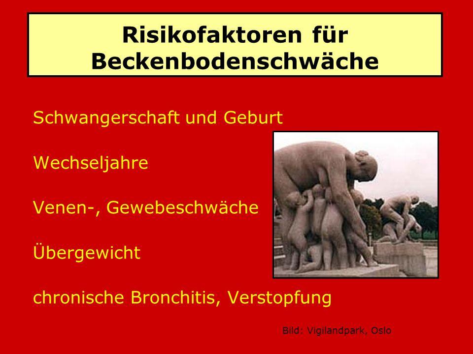 Risikofaktoren für Beckenbodenschwäche