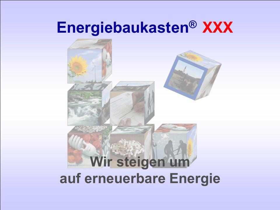 Energiebaukasten® XXX