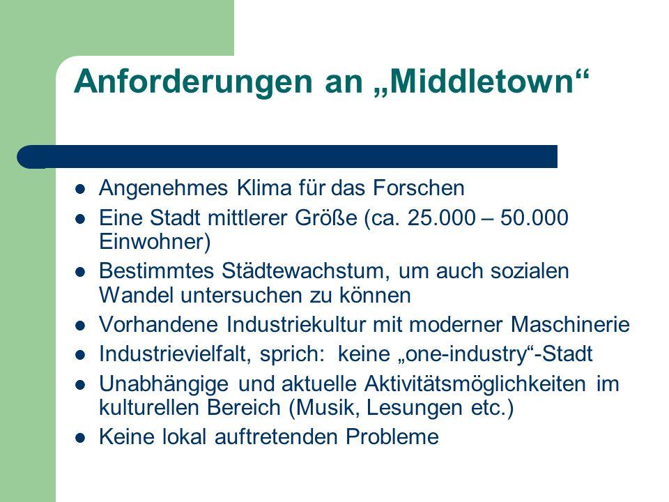 "Anforderungen an ""Middletown"