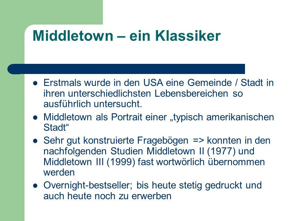 Middletown – ein Klassiker