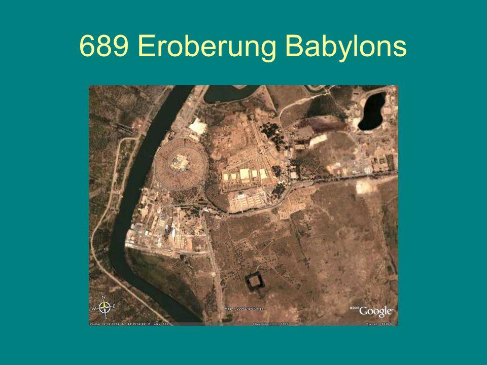 689 Eroberung Babylons