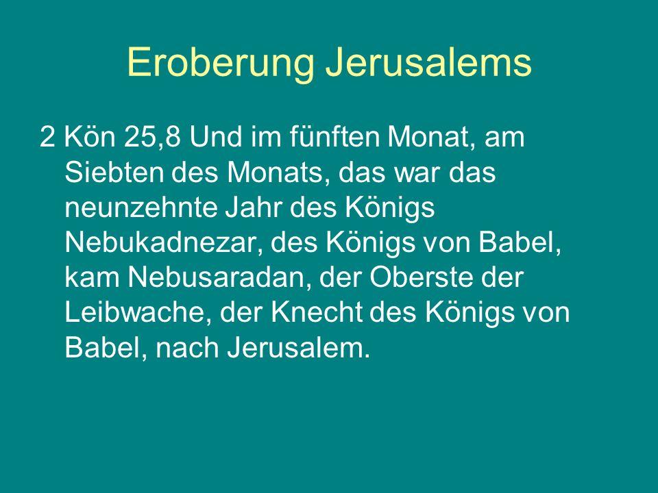 Eroberung Jerusalems