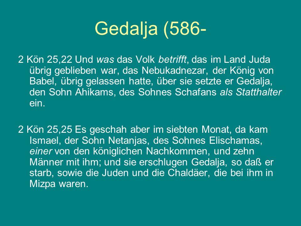 Gedalja (586-