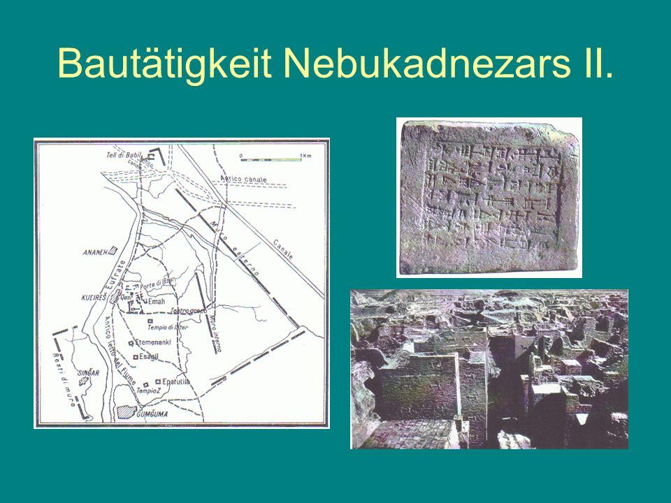 Bautätigkeit Nebukadnezars II.