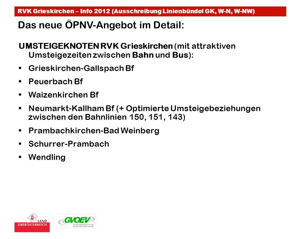 Das neue ÖPNV-Angebot im Detail:
