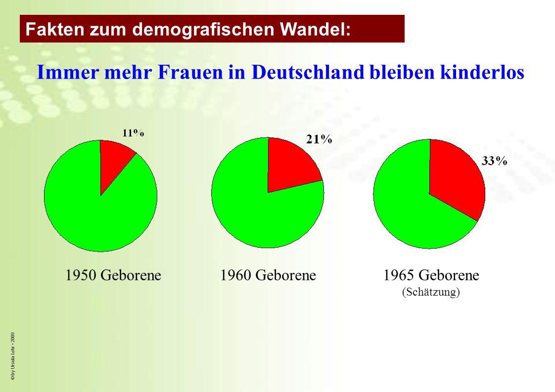 Immer mehr Frauen in Deutschland bleiben kinderlos