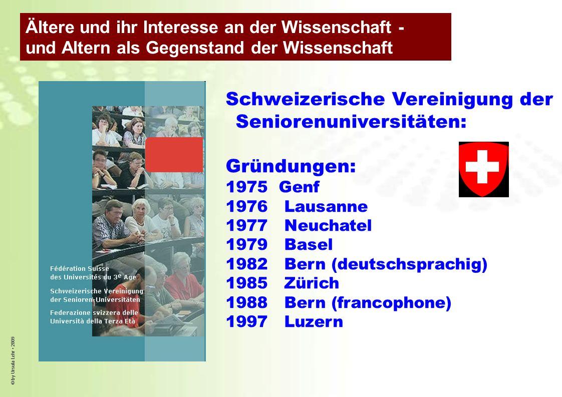 Schweizerische Vereinigung der Seniorenuniversitäten: