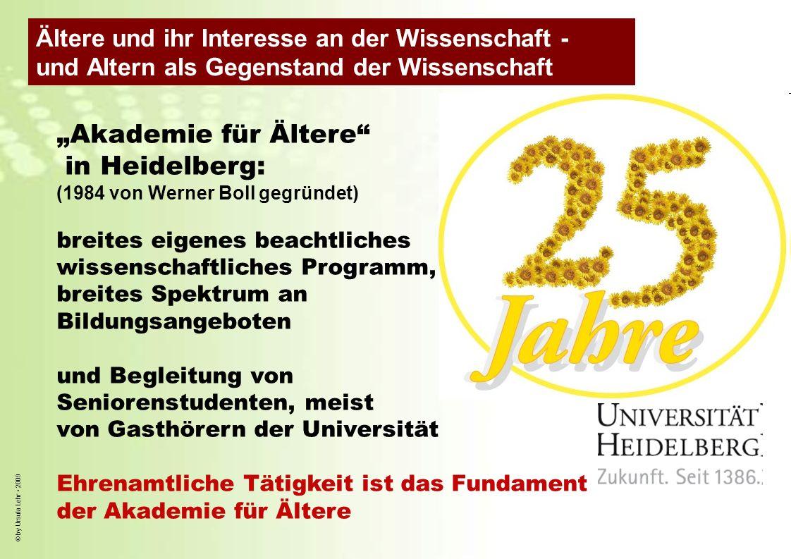 """""""Akademie für Ältere in Heidelberg:"""