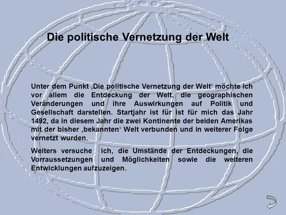 Die politische Vernetzung der Welt