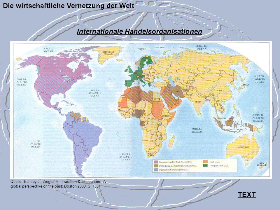 Die wirtschaftliche Vernetzung der Welt