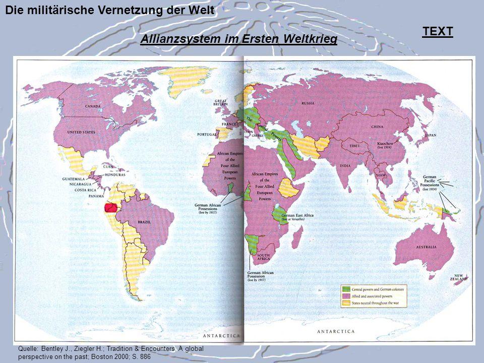 Die militärische Vernetzung der Welt