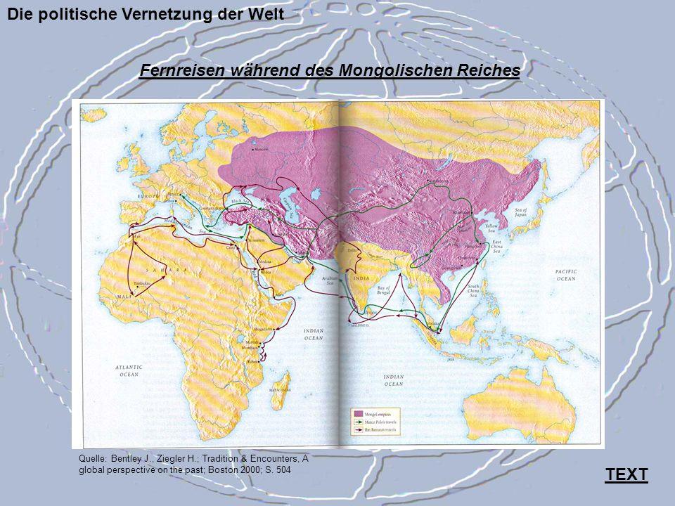 Fernreisen während des Mongolischen Reiches