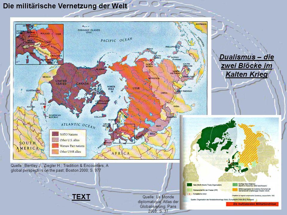 Dualismus – die zwei Blöcke im Kalten Krieg