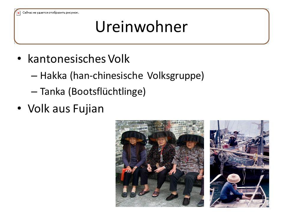 Ureinwohner kantonesisches Volk Volk aus Fujian