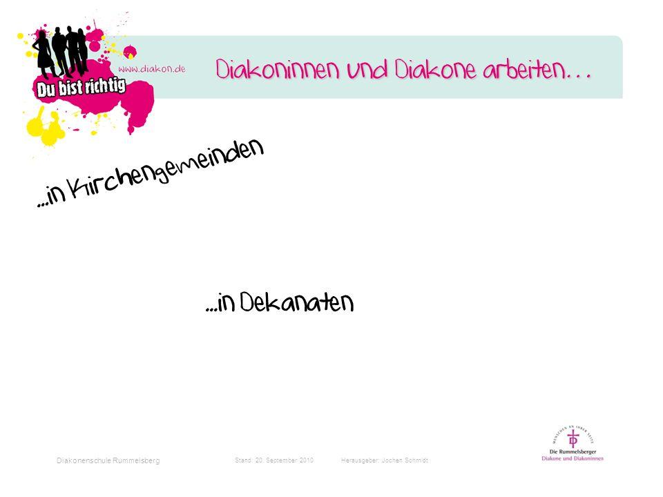 Stand: 20. September 2010 Herausgeber: Jochen Schmidt