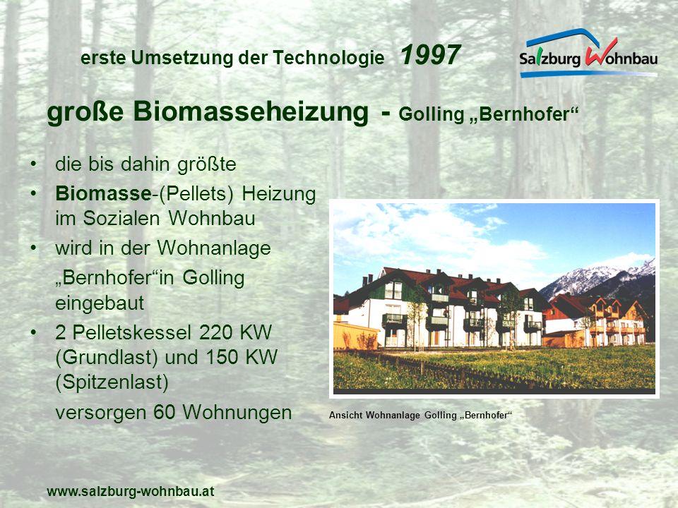 erste Umsetzung der Technologie 1997