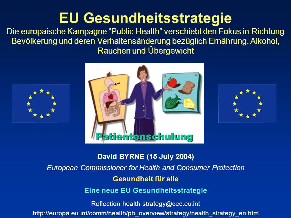 Eine neue EU Gesundheitsstrategie