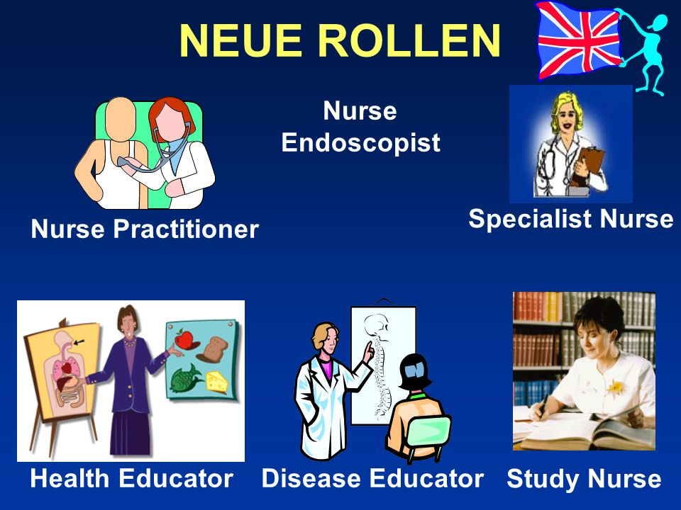NEUE ROLLEN Specialist Nurse Nurse Endoscopist Nurse Practitioner