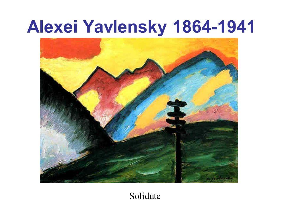 Alexei Yavlensky 1864-1941 Solidute