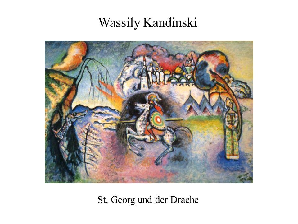Wassily Kandinski St. Georg und der Drache