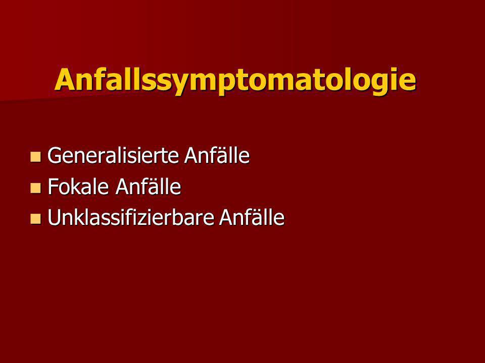 Anfallssymptomatologie