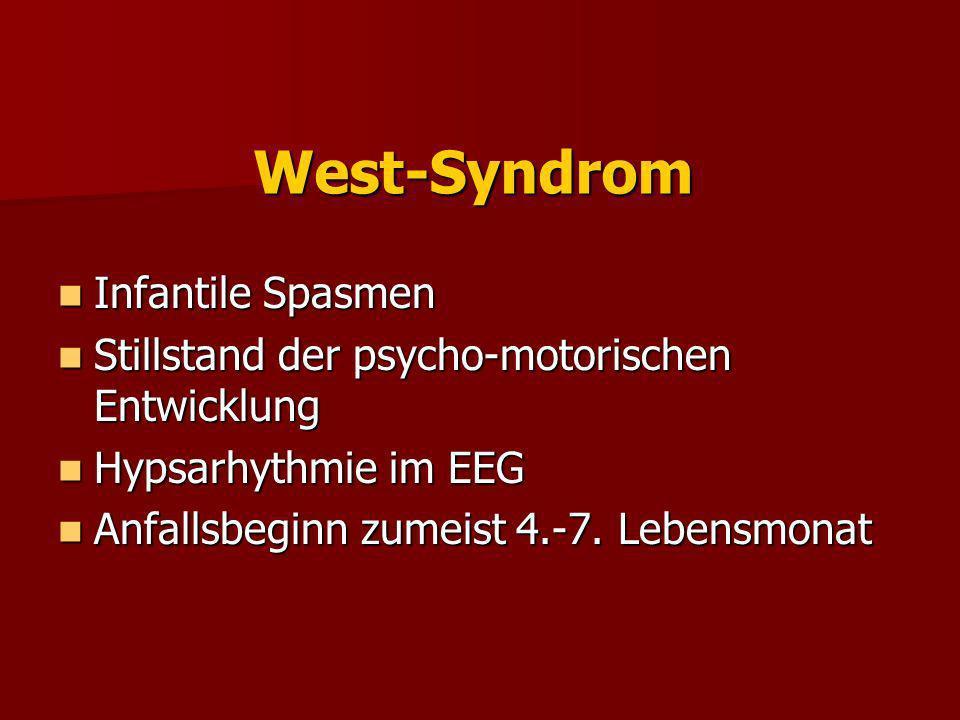 West-Syndrom Infantile Spasmen