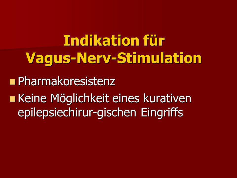 Indikation für Vagus-Nerv-Stimulation