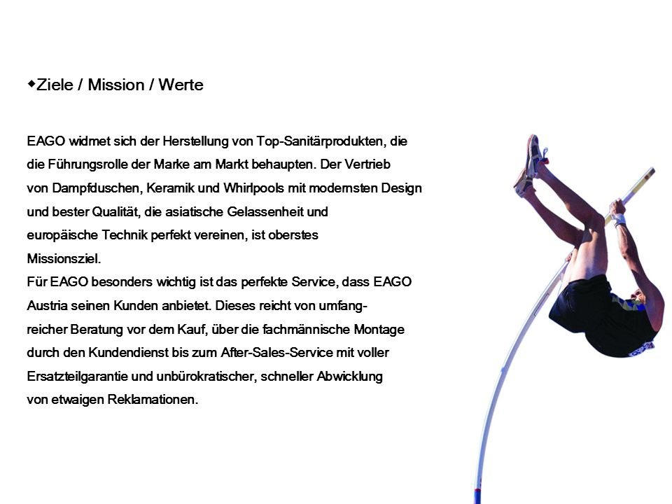 ◆Ziele / Mission / Werte
