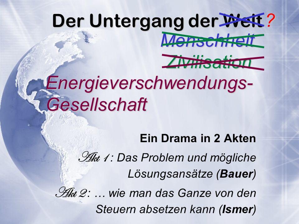 Energieverschwendungs- Gesellschaft