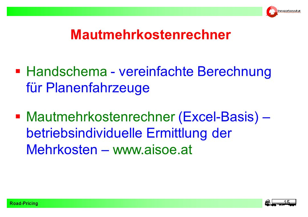 toll collect mautrechner