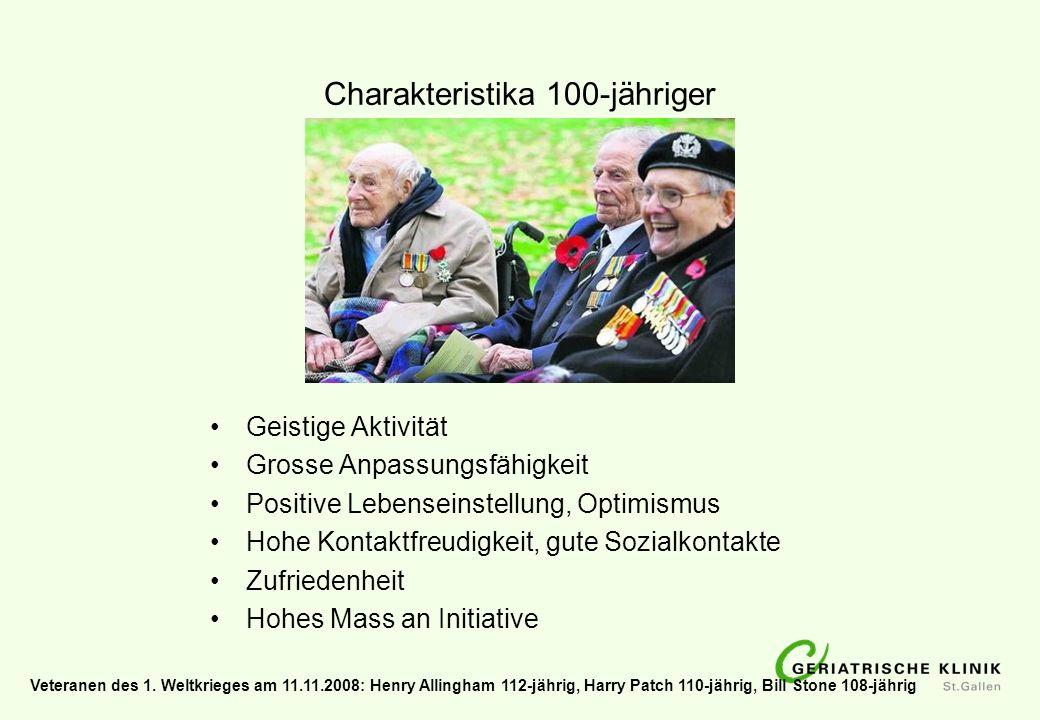 Charakteristika 100-jähriger