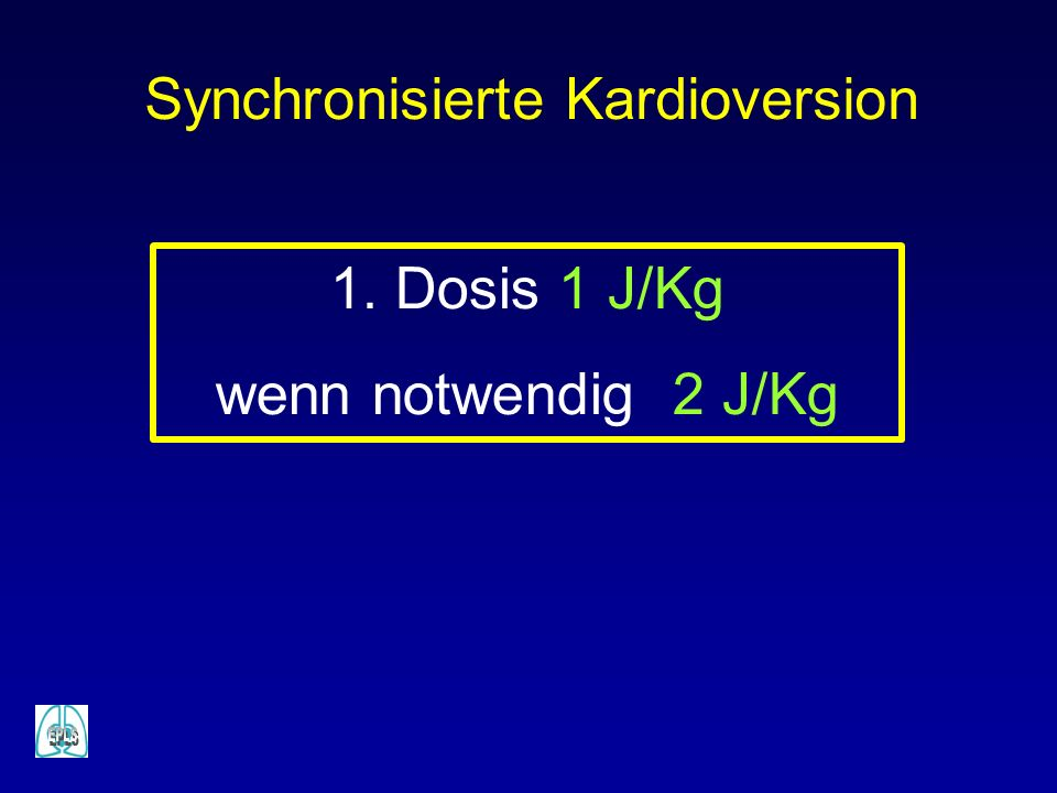 Synchronisierte Kardioversion