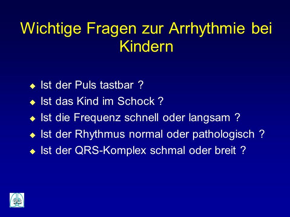 Wichtige Fragen zur Arrhythmie bei Kindern