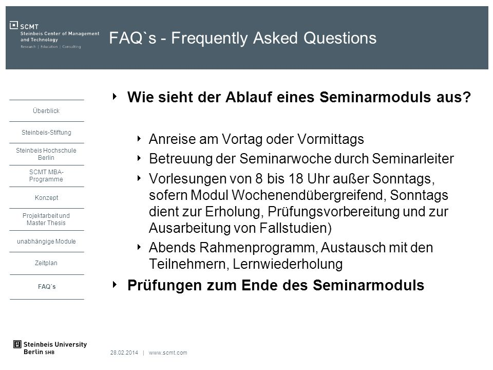 FAQ`s - Frequently Asked Questions